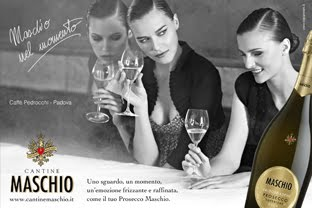 Campagna advertising Cantine Maschio
