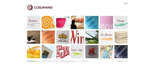 Cusumano, sito web istituzionale