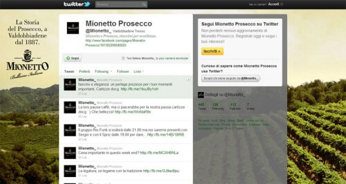Background Twitter Mionetto