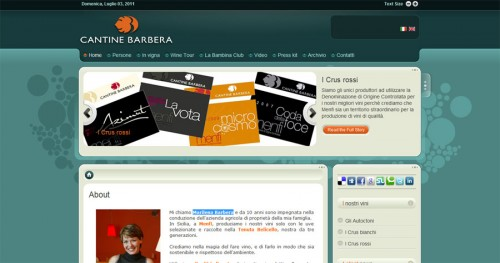 Home page Cantine Barbera