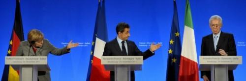 Merkel-Sarkozy-Monti