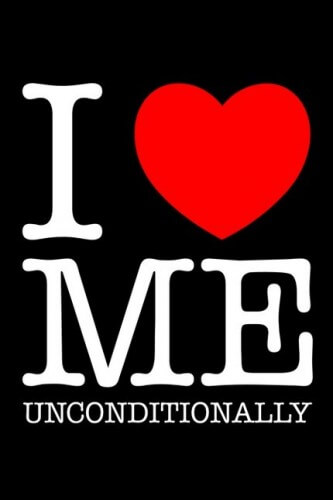 I love me - Messaggio egocentrico