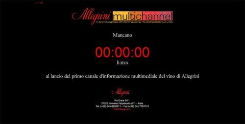 Allegrini.it - Multichannel
