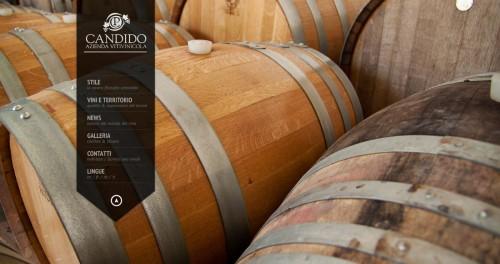 Candido Vini Sicilia Galleria Sito Web