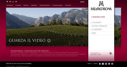 Mezzacorona Galleria Sito Web
