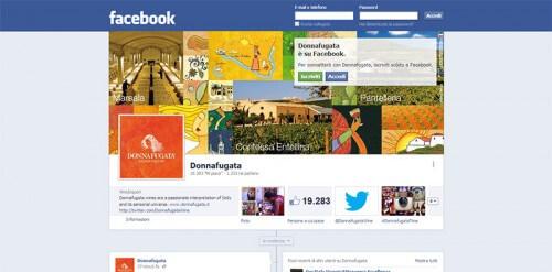 Donnafugata su Facebook