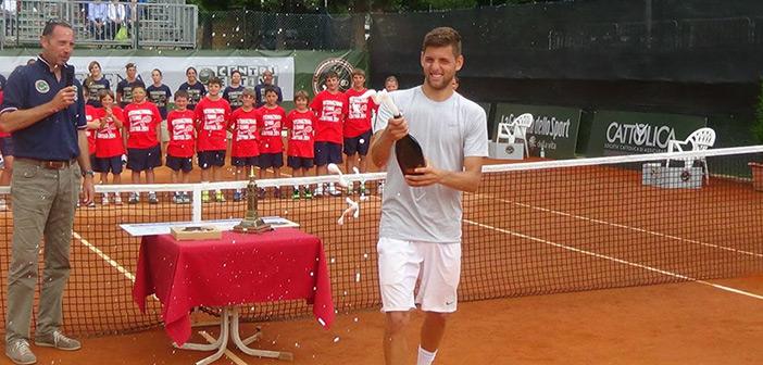 Vinicola Serena sponsor di ATP Challenger Cortina
