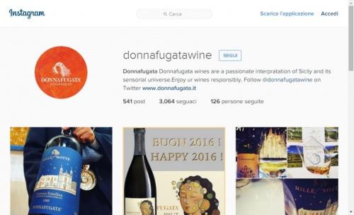 Profilo Instagram Donnafugata