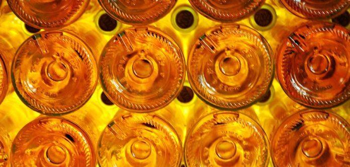 Bottiglie vino bianco