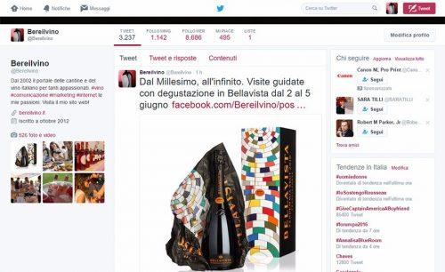 Account Twitter Bereilvino