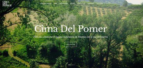 Sito web Cima del Pomer