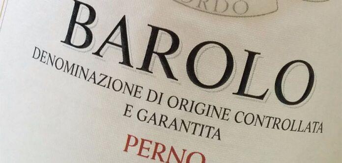 Barolo DOCG Perno 2012 Sordo Giovanni