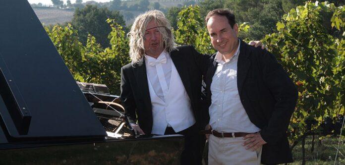 Maurizio Mastrini con Filippo Antonelli
