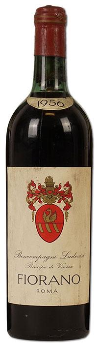Vino Fiorano Rosso 1956