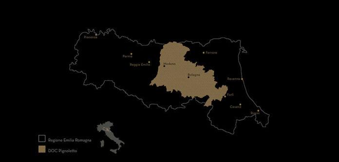 Mappa Territorio Pignoletto