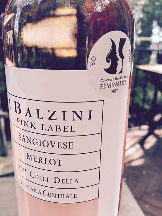 I Balzini Pink Label con medaglia