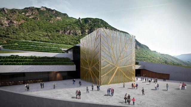 Rendering Cantina Bolzano