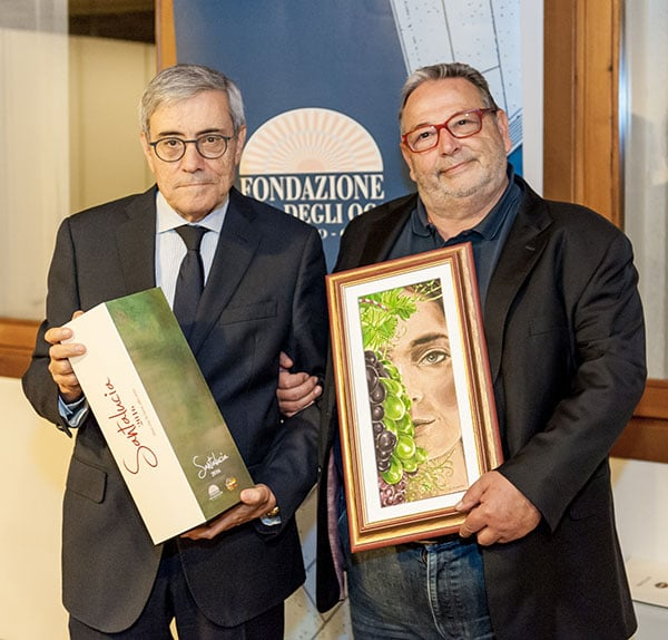 Presidente FBOV Di Falco e Fausto Maculan