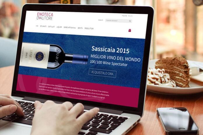 Negozio di vino online Enoteca d'Autore