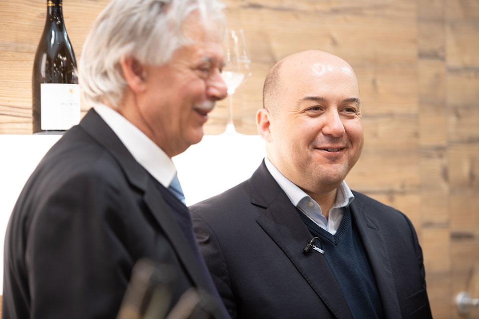 Luigi Caporicci e Alessandro Pipero