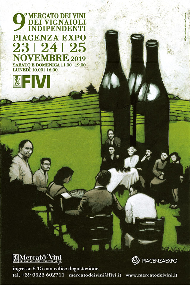 Locandina FIVI Piacenza 2019