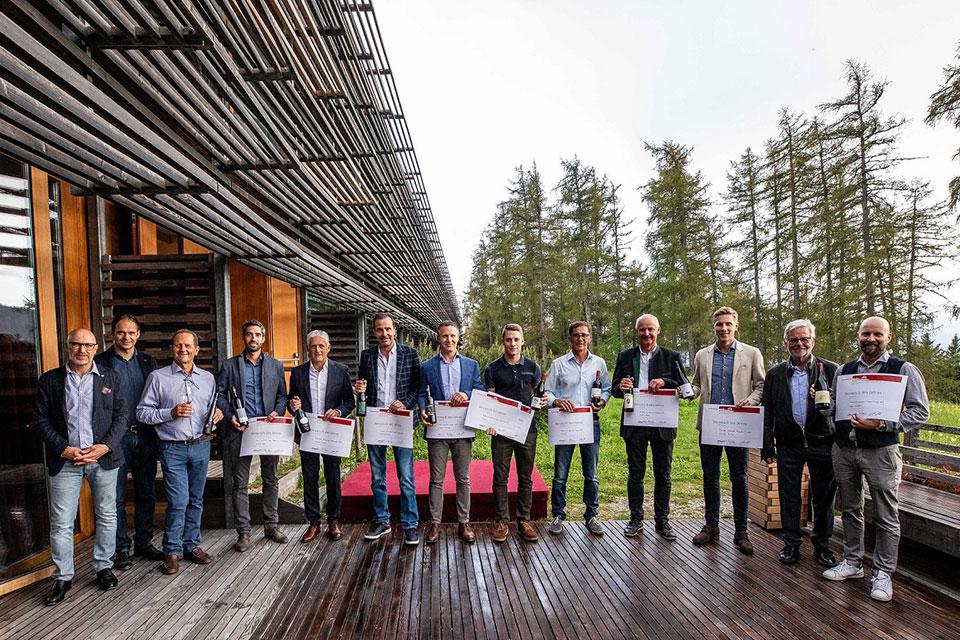 foto di gruppo vincitori