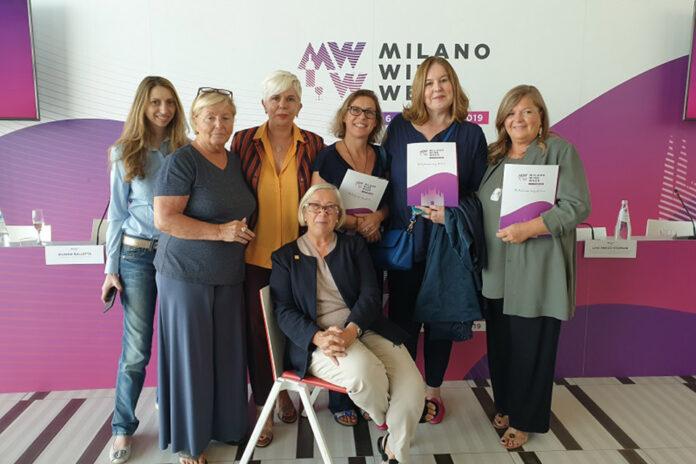 Donne del Vino alla conferenza stampa MWW