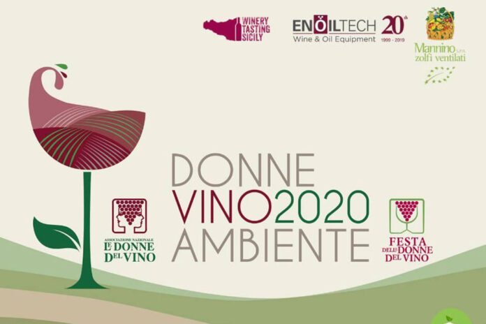 locandina donne vino ambiente 2020