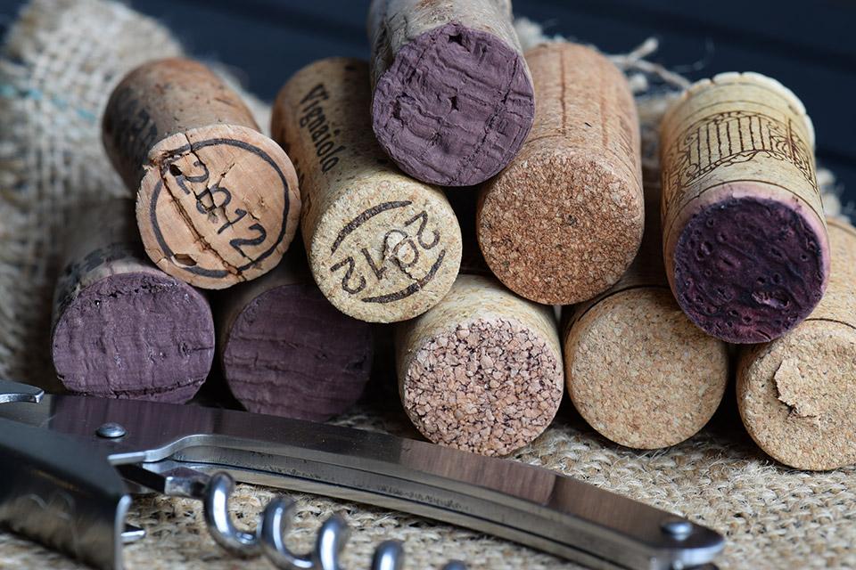 tappi vino italiano